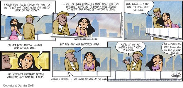 Comic Strip Darrin Bell  Candorville 2011-08-14 self-esteem