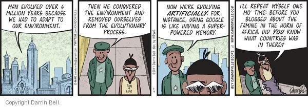 Comic Strip Darrin Bell  Candorville 2011-08-18 artificial