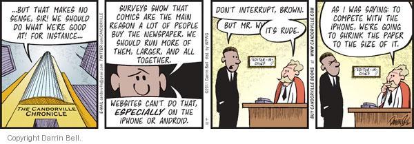 Comic Strip Darrin Bell  Candorville 2011-08-22 size