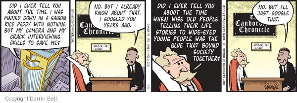 Comic Strip Darrin Bell  Candorville 2011-08-26 internet search