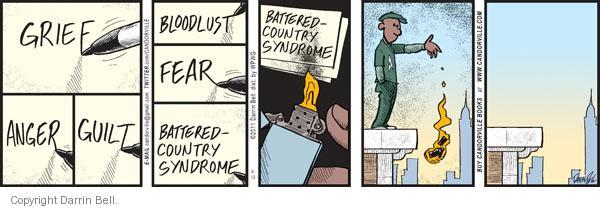 Comic Strip Darrin Bell  Candorville 2011-09-12 anger