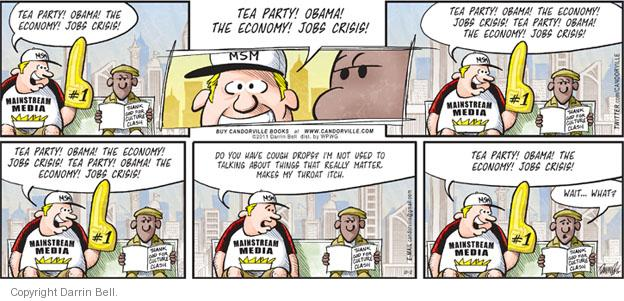 Comic Strip Darrin Bell  Candorville 2011-10-02 tea party