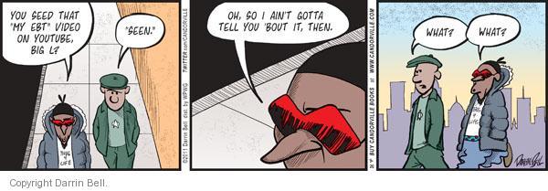 Comic Strip Darrin Bell  Candorville 2011-09-26 transfer