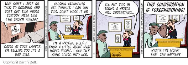 Comic Strip Darrin Bell  Candorville 2011-10-04 argument