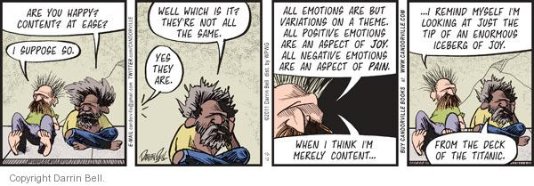 Comic Strip Darrin Bell  Candorville 2011-10-12 psychological