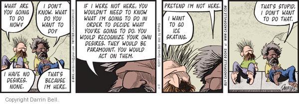 Comic Strip Darrin Bell  Candorville 2011-10-13 dependent