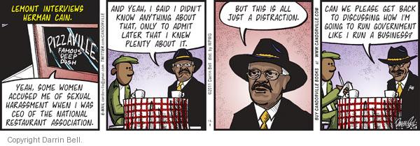 Comic Strip Darrin Bell  Candorville 2011-11-08 election