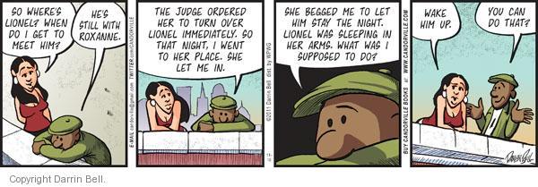 Comic Strip Darrin Bell  Candorville 2011-11-10 child custody