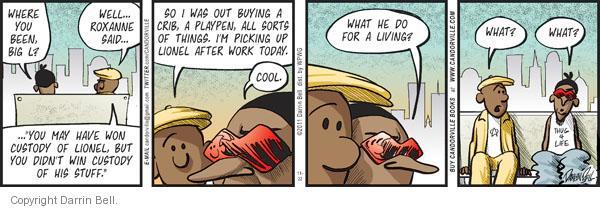 Comic Strip Darrin Bell  Candorville 2011-11-22 father
