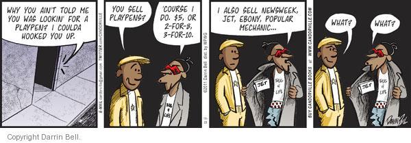 Comic Strip Darrin Bell  Candorville 2011-11-23 popular