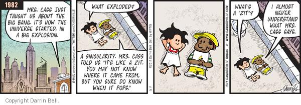 Comic Strip Darrin Bell  Candorville 2011-11-28 explosion