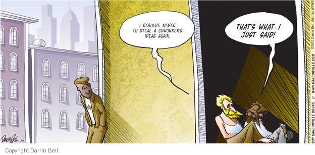 Comic Strip Darrin Bell  Candorville 2012-01-08 colleague