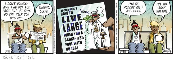 Comic Strip Darrin Bell  Candorville 2012-01-04 jobless
