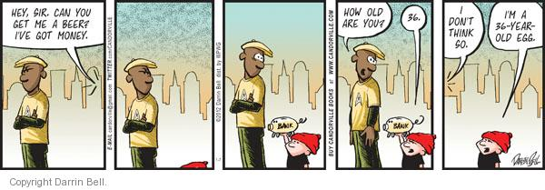 Comic Strip Darrin Bell  Candorville 2012-01-07 alcohol