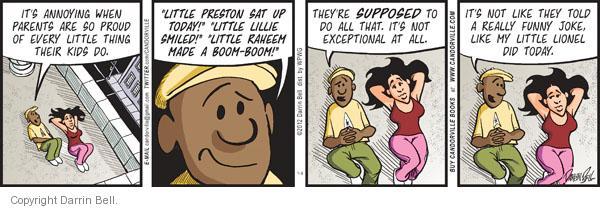 Comic Strip Darrin Bell  Candorville 2012-01-09 dad