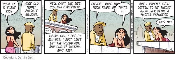 Comic Strip Darrin Bell  Candorville 2012-01-14 dad