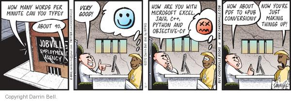 Comic Strip Darrin Bell  Candorville 2012-01-31 objective