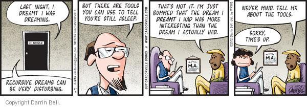 Comic Strip Darrin Bell  Candorville 2012-02-09 peanut