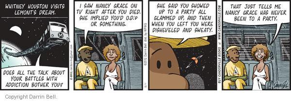 Comic Strip Darrin Bell  Candorville 2012-02-22 something