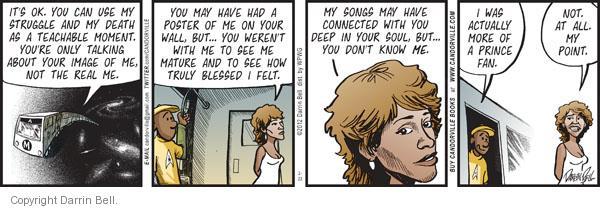 Comic Strip Darrin Bell  Candorville 2012-02-23 singer