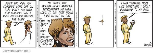 Comic Strip Darrin Bell  Candorville 2012-02-24 singer