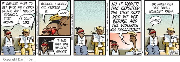 Comic Strip Darrin Bell  Candorville 2012-02-28 brown