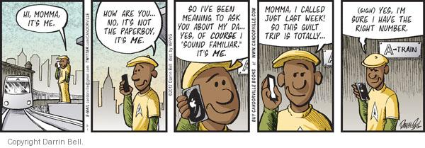 Comic Strip Darrin Bell  Candorville 2012-03-01 call