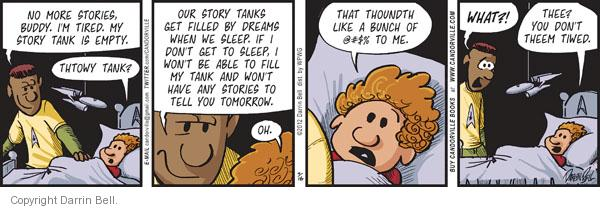 Comic Strip Darrin Bell  Candorville 2012-03-16 thee