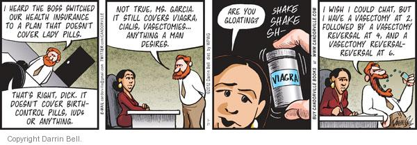 Comic Strip Darrin Bell  Candorville 2012-03-21 birth control