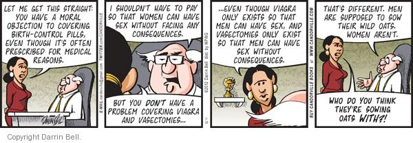 Comic Strip Darrin Bell  Candorville 2012-03-22 men's health