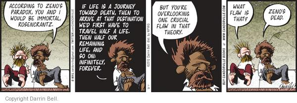 Comic Strip Darrin Bell  Candorville 2012-03-29 journey