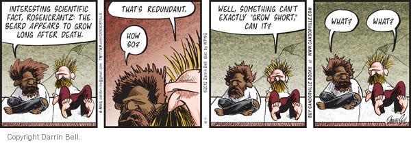 Comic Strip Darrin Bell  Candorville 2012-03-30 facial