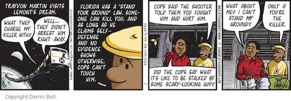 Comic Strip Darrin Bell  Candorville 2012-04-04 laws