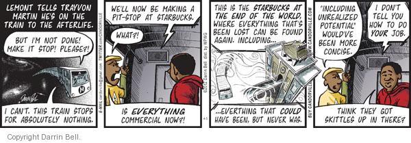 Comic Strip Darrin Bell  Candorville 2012-04-05 afterlife