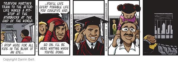 Comic Strip Darrin Bell  Candorville 2012-04-06 afterlife