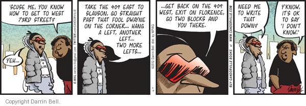Comic Strip Darrin Bell  Candorville 2012-04-19 city street