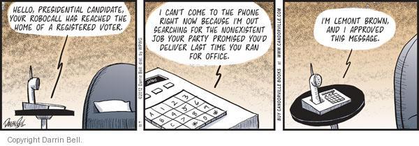Comic Strip Darrin Bell  Candorville 2012-04-21 brown
