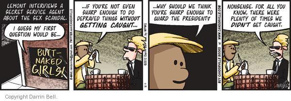 Comic Strip Darrin Bell  Candorville 2012-04-24 first president