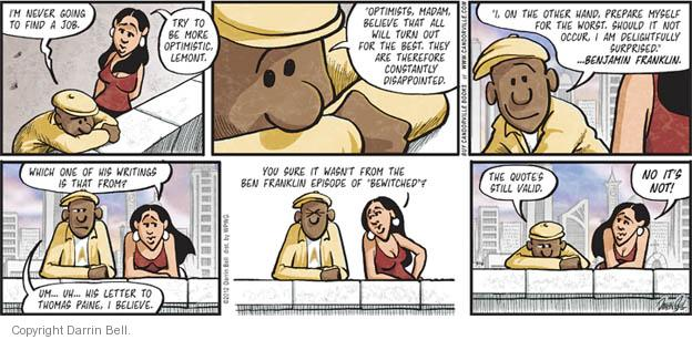 Comic Strip Darrin Bell  Candorville 2012-05-06 episode