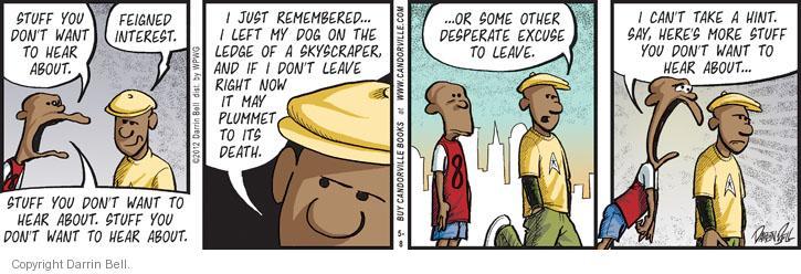 Comic Strip Darrin Bell  Candorville 2012-05-08 friendship