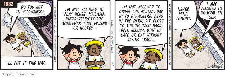 Comic Strip Darrin Bell  Candorville 2012-05-18 eat