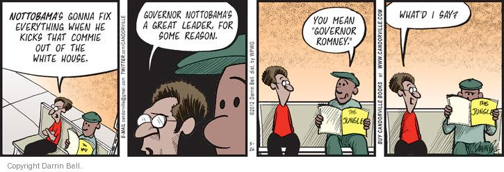 Comic Strip Darrin Bell  Candorville 2012-05-26 governor