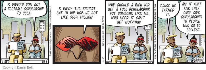 Comic Strip Darrin Bell  Candorville 2012-06-04 cat