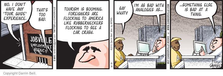 Comic Strip Darrin Bell  Candorville 2012-06-08 foreigner