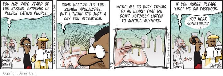 Comic Strip Darrin Bell  Candorville 2012-06-11 eat