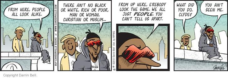 Comic Strip Darrin Bell  Candorville 2012-06-18 racial discrimination
