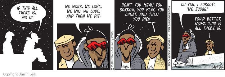 Comic Strip Darrin Bell  Candorville 2012-06-20 lose
