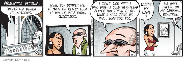 Comic Strip Darrin Bell  Candorville 2012-07-16 date