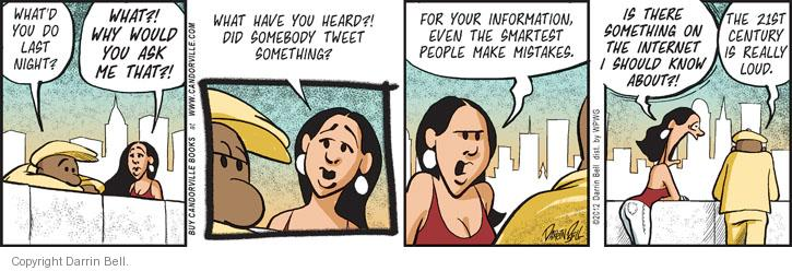 Comic Strip Darrin Bell  Candorville 2012-07-20 internet privacy