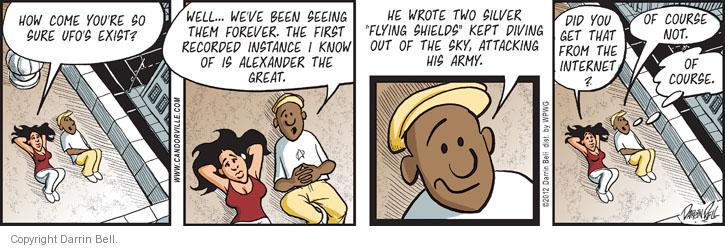 Comic Strip Darrin Bell  Candorville 2012-07-21 accuracy